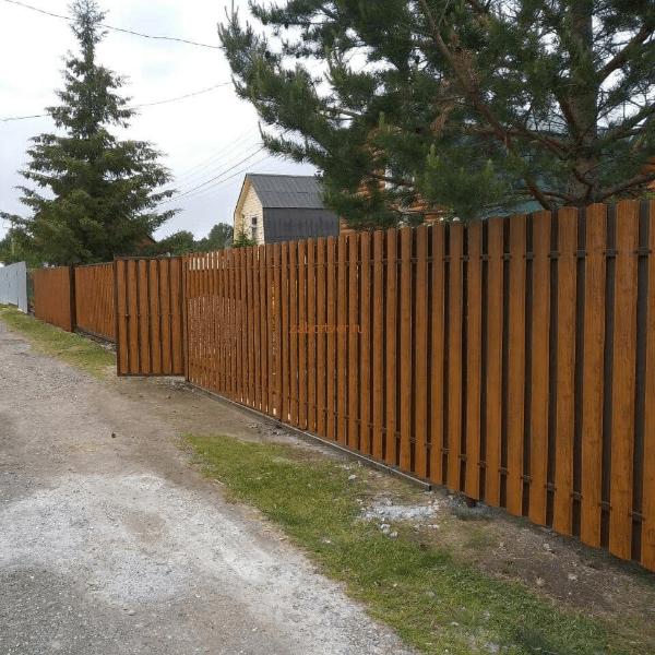 Заборы в Твери